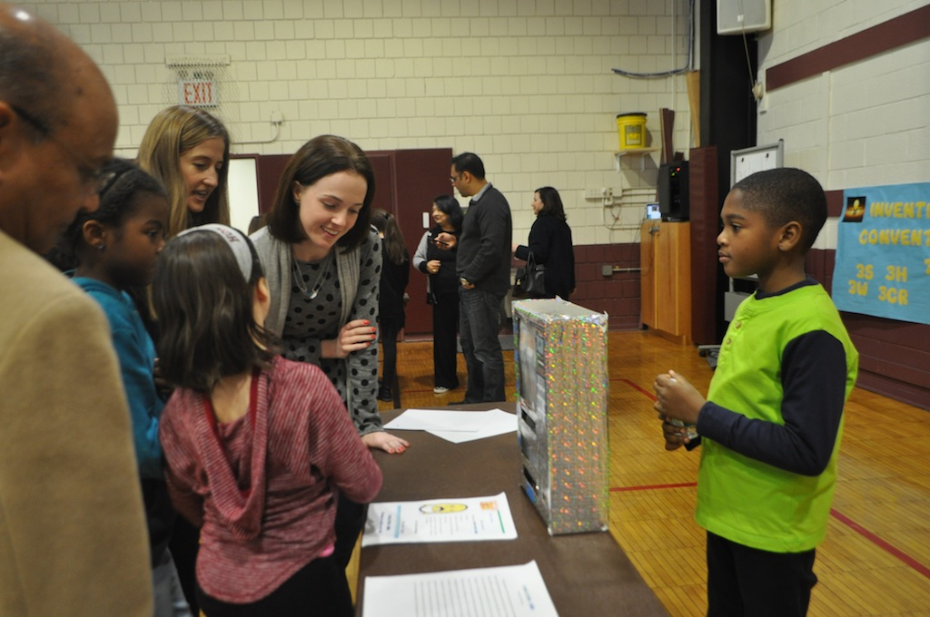 long a part of the third grade curriculum this years addition of the invention convention and its invitation to parents and friends to view examples of